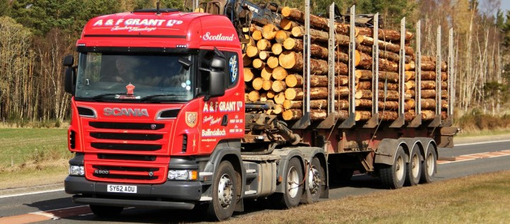 round timber haulage 2